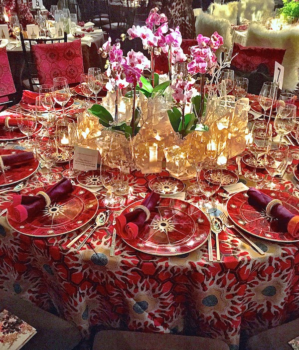Tony Duquette By Mottahedeh At The Ny Orchid Dinner Blog